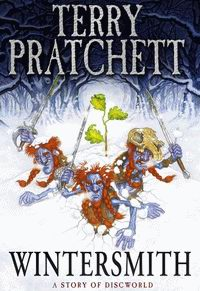 "Cover of ""Wintersmith"", a novel by Terry Pratchett"