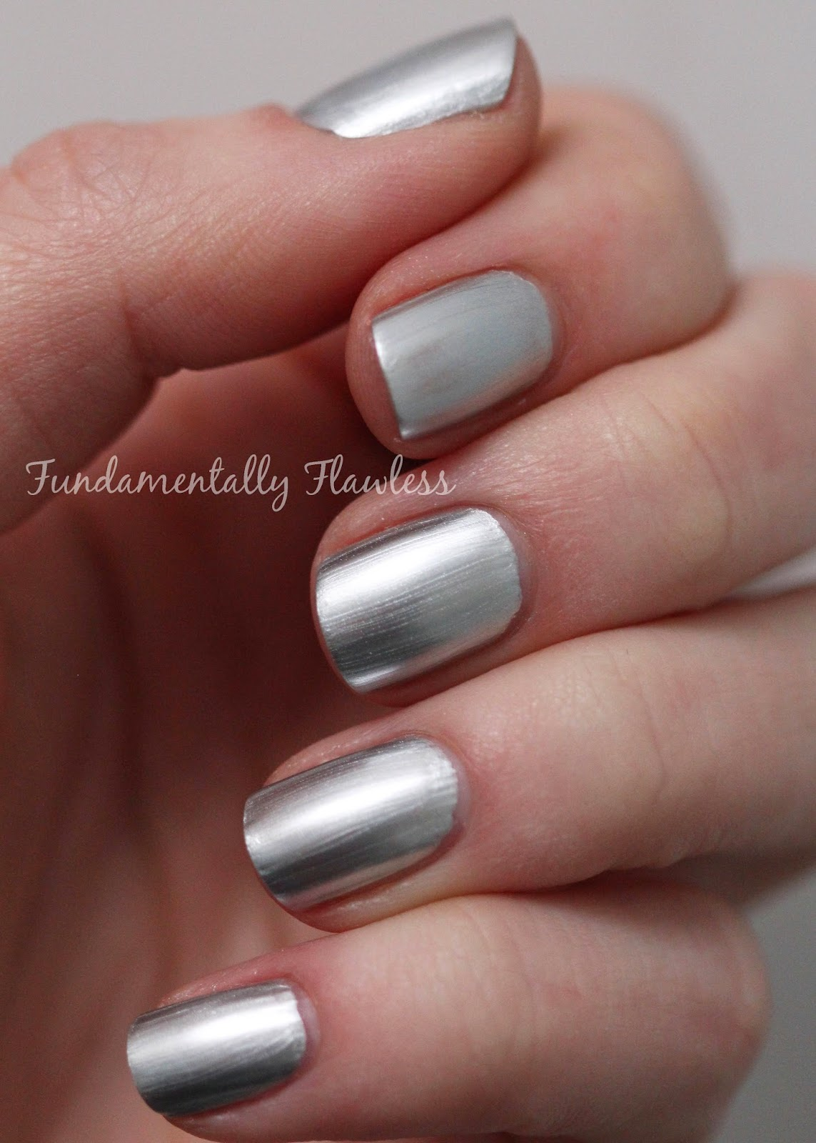 Models Own Colour Chrome Collection Silver Swatch