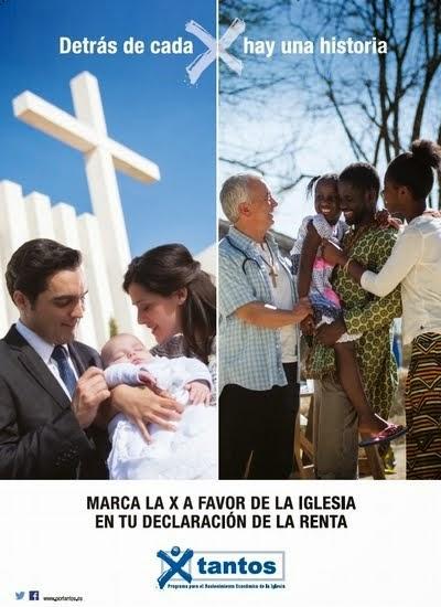 Marca la casilla de la Iglesia en tu Declaración de la Renta. Pincha en la foto