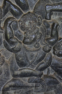 bas-relief, Monkey army, Anglor Wat