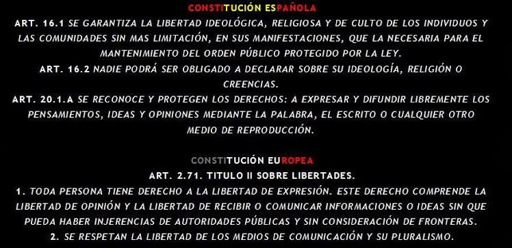 ¡Libertad de Expresión!