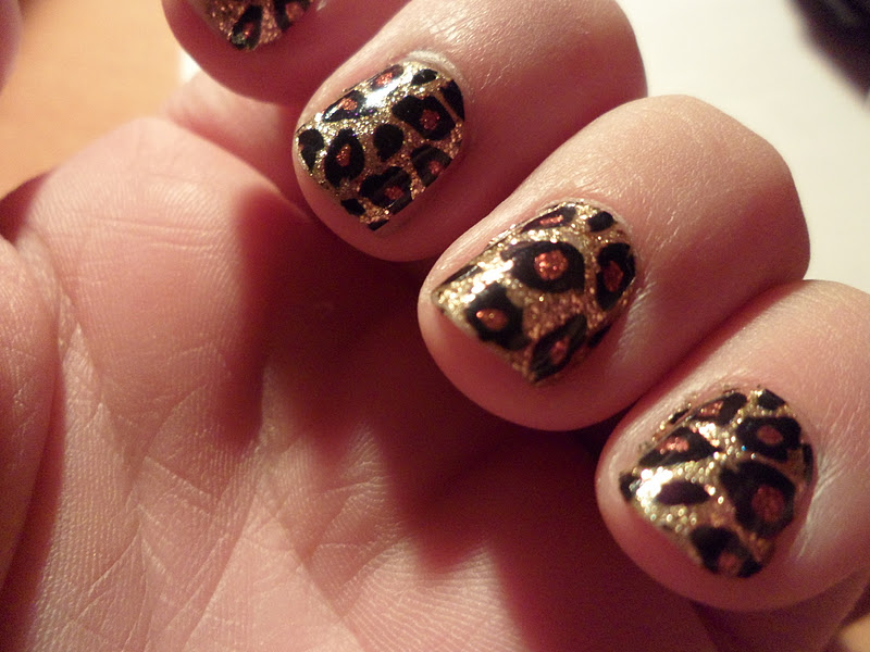 Redlips Makeup: Uñas de Leopardo