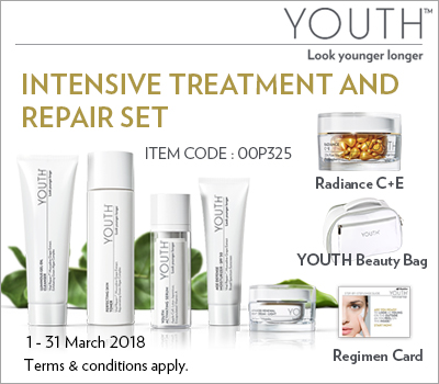 Promo Shaklee Mac 2018 - YOUTH INTENSIVE TREATMENT AND REPAIR SET (KLIK GAMBAR UNTUK PESANAN)