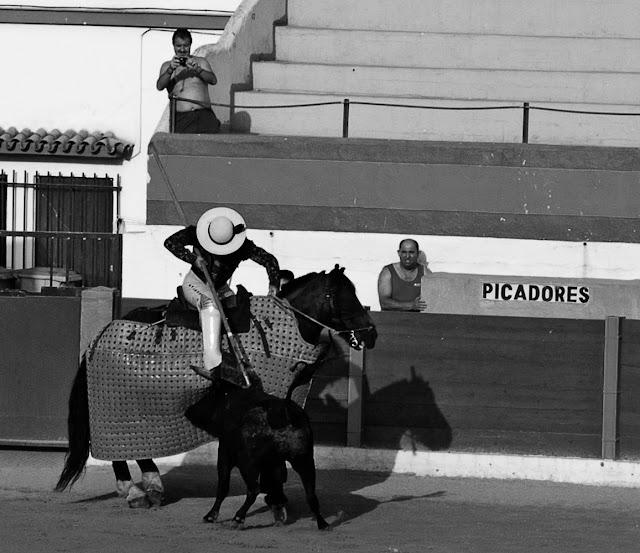 Spain Costa del sol Bullfight Corrida de torro show Испания Коста дель Соль Бой быков Коррида