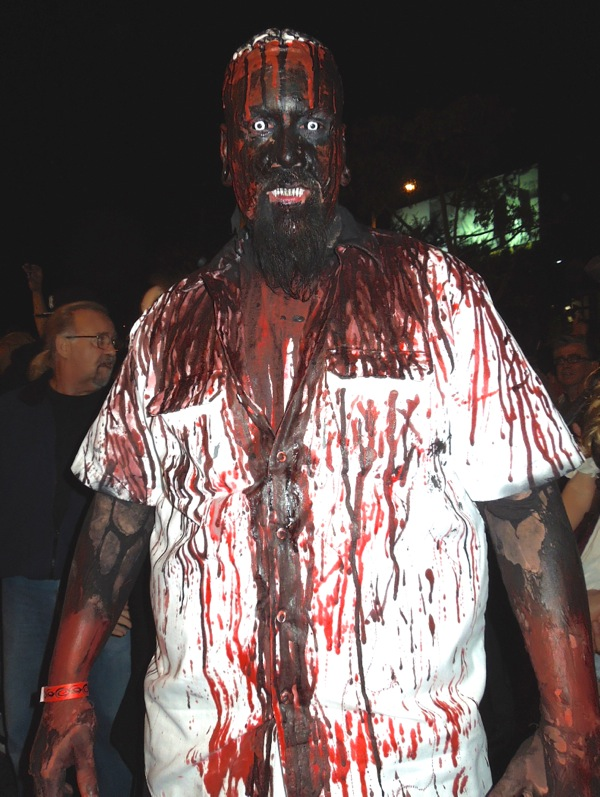 Scary West Hollywood Halloween Carnaval costume
