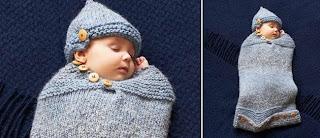 Örgü Bebek Tulum Battaniye Yapımı