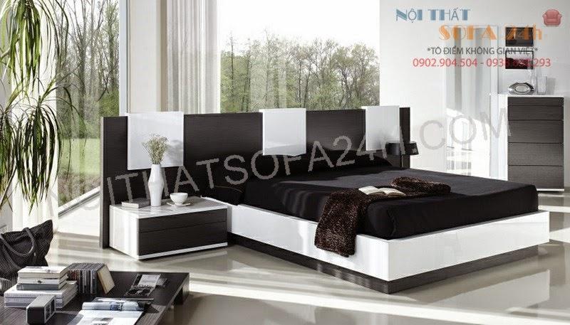 Giường ngủ GN074