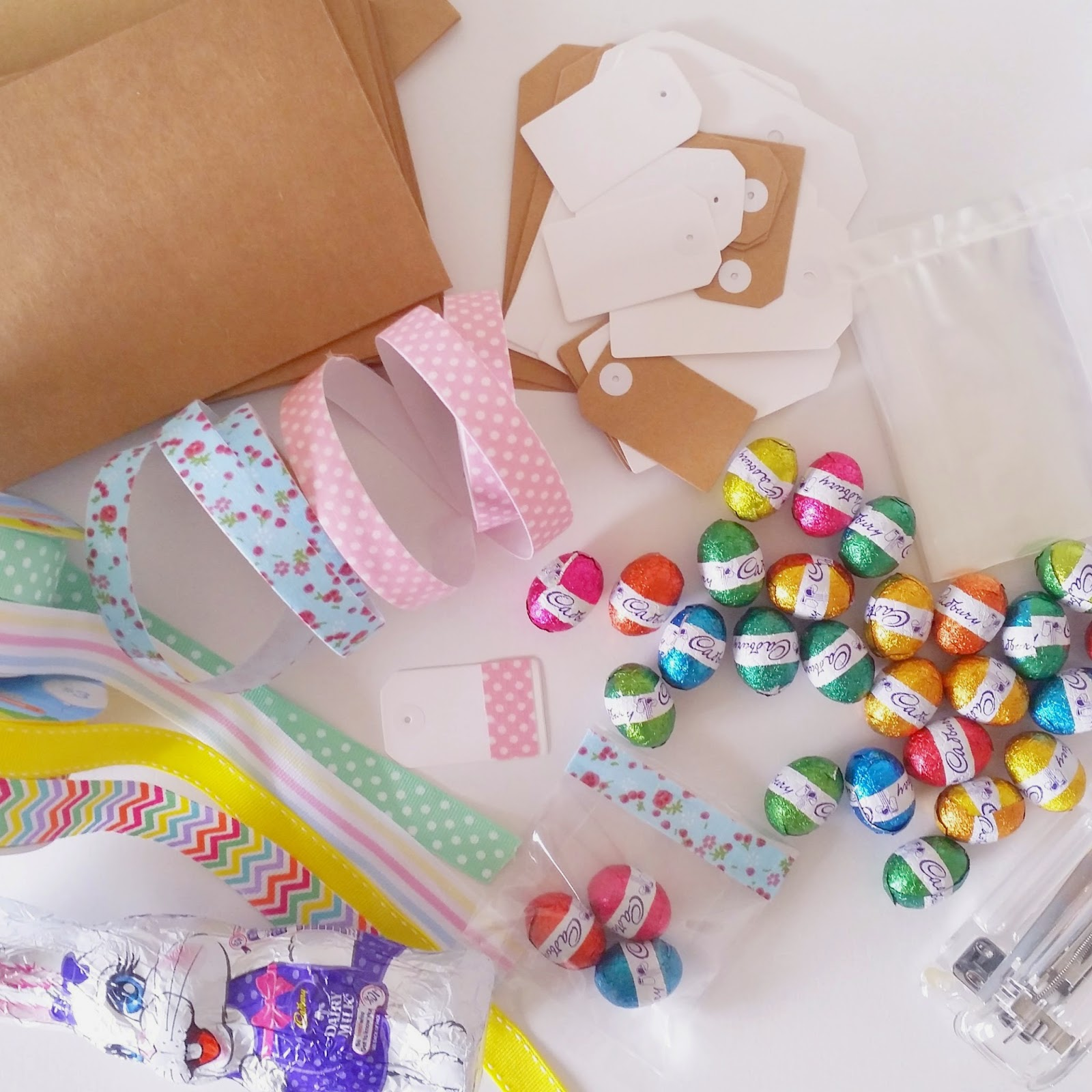 Organising me and mine diy easter gifts easter egg gift bags negle