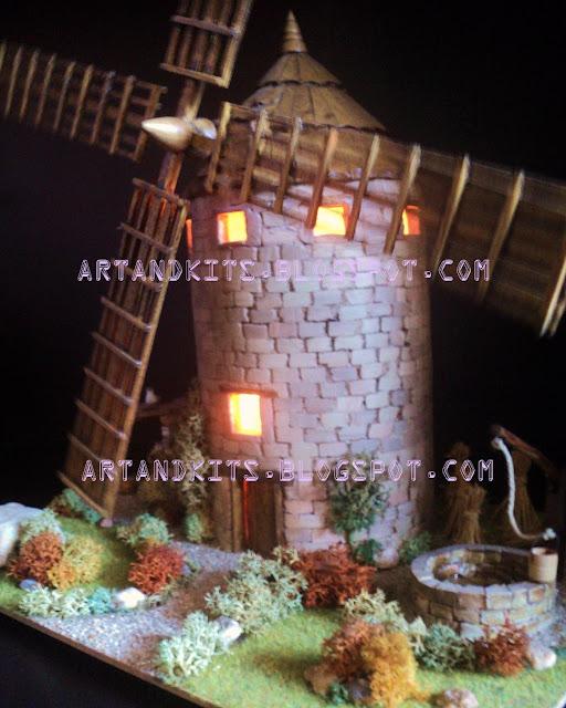 Eis as primeiras imagens de outro trabalho de modelismo. / The first images of another miniature model work.