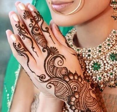 Nice Bridal Mehndi Designs 2013 By Falguni Rajpara 2013