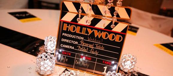Matrimonio Tema Hollywood : Bodas temáticas cine marcasitios claqueta tu boda de