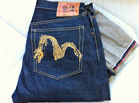 evisu gold dragon size 32-brand new