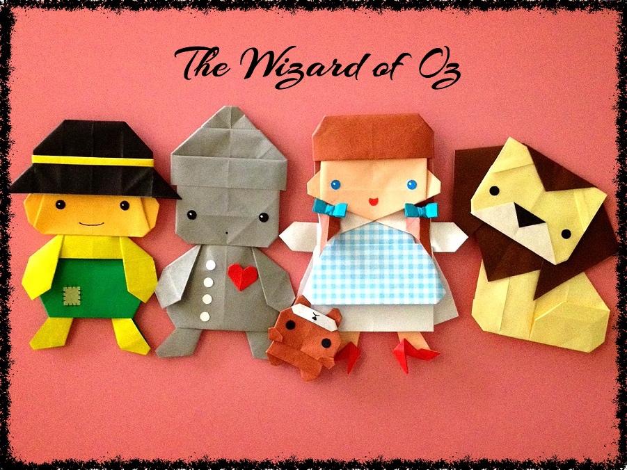 Поделки куклы с оригами 138