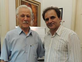 Airton Engster dos Santos e professor Ildo Salvadori