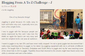 Blogging From A To Z Challenge, April 2012