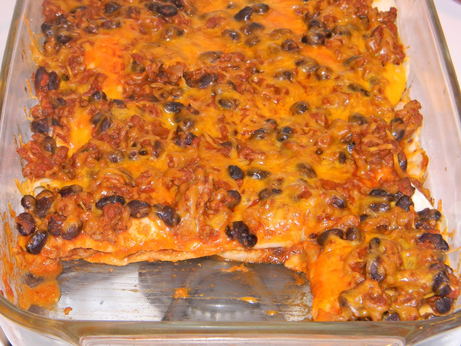 Growing to Four: Quesadilla Casserole