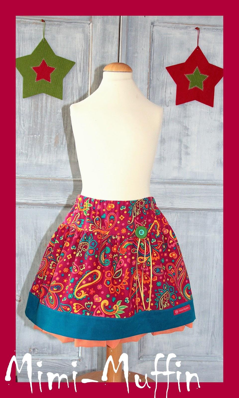 Mimi-Muffin.............: Ein Weihnachtsrock inkl.Mini Tutorial