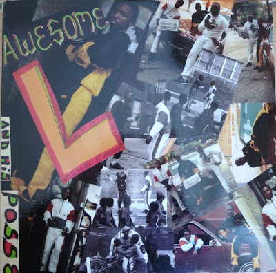Awesome L ‎– Awesome L And His Posse (1989, 320 Vinyl)