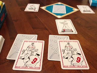 cards from Harry's Grand Slam Baseball board game