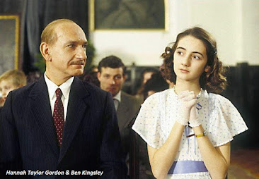 Hannah Taylor Gordon and Ben Kingsley