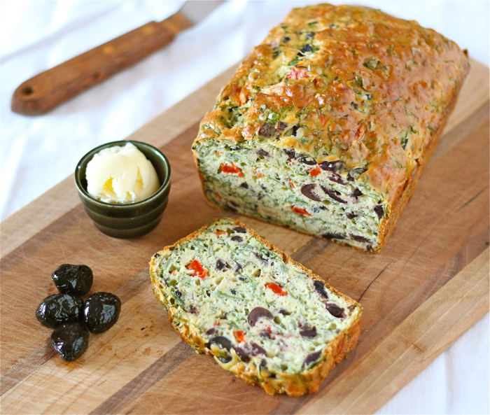 Savory olive bread
