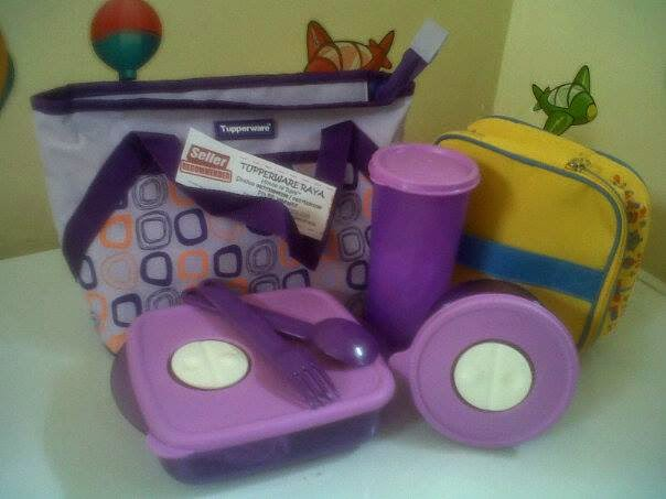 Promo Tupperware Murah Paket Bazar Milad Purple Free Tas Lolly