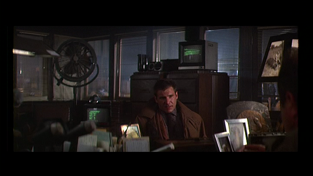 Blade Runner 1982 film ridley scott harrison ford sci fi philip K dick bryants office