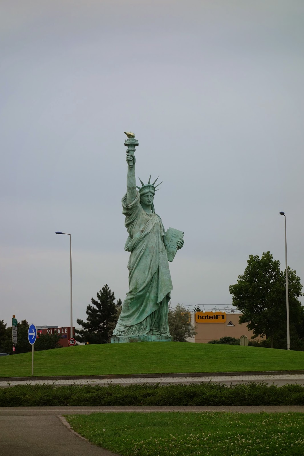 Кольмар - Статуя Свободы