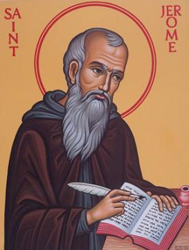 SAN JERÓNIMO (347-420) Doctor de la Iglesia. Fiesta 30 Septiembre