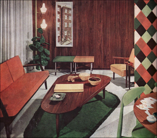 Exceptional Vintage Interior Design And Decoration 50s