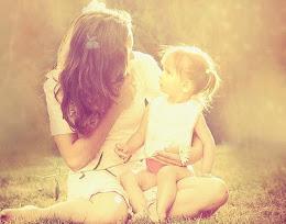 Filha mamãe ama você...