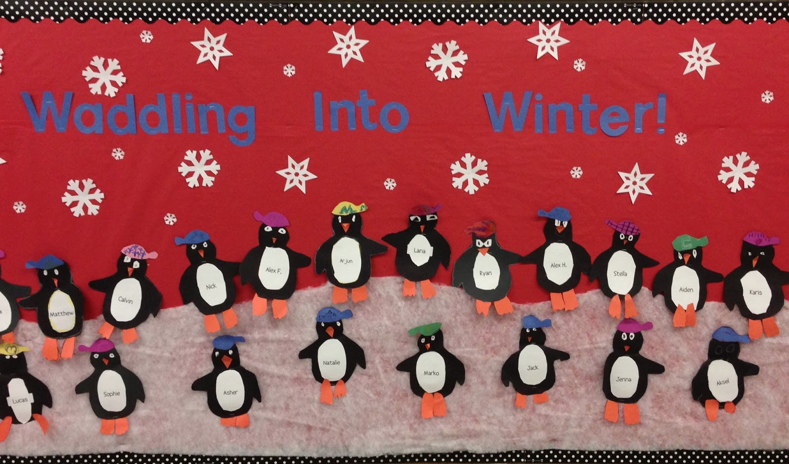 Firsties Are Fantastic Waddling Into Winter