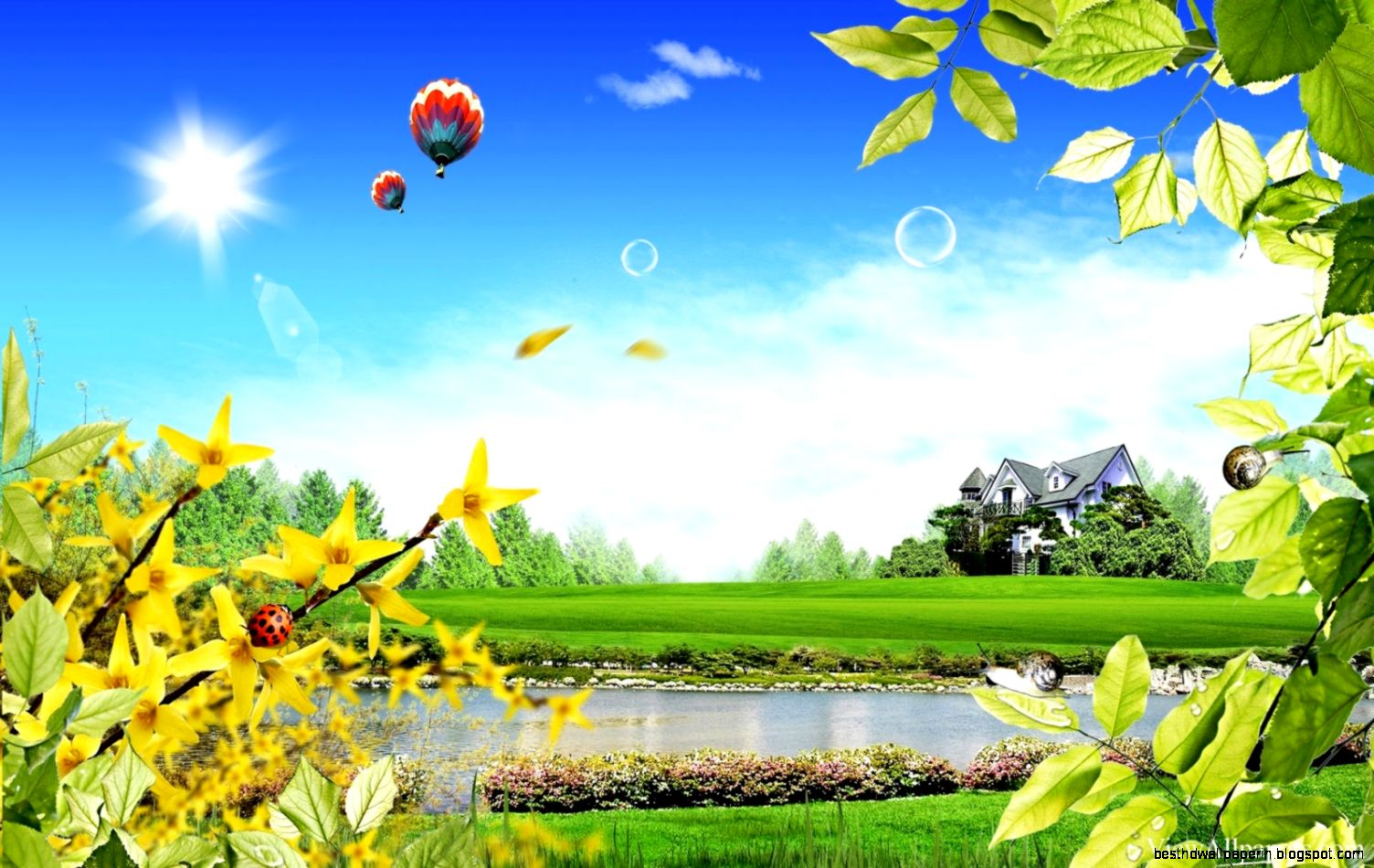 3d nature wallpapers free background download best hd for 3d nature wallpaper for home