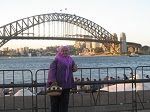 Seronoknyer...di Sydney Harbour Bridge