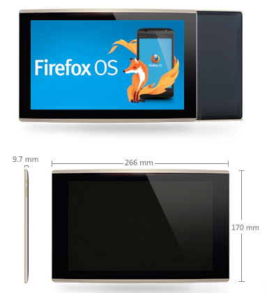 Mozilla Firefox OS Tablet with Quad-Core CPU