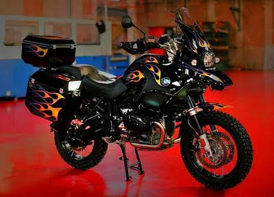 Airbrush Modification BMW R 1200GS