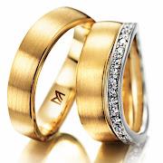 O anel de ouro. Falando em noivado e alianças, você já escolheu a sua ?