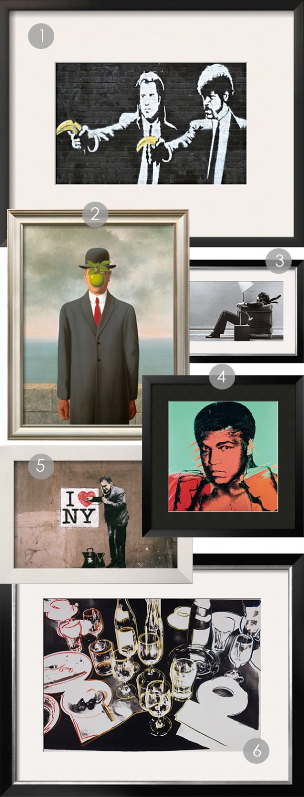 art for men, holiday gift guide