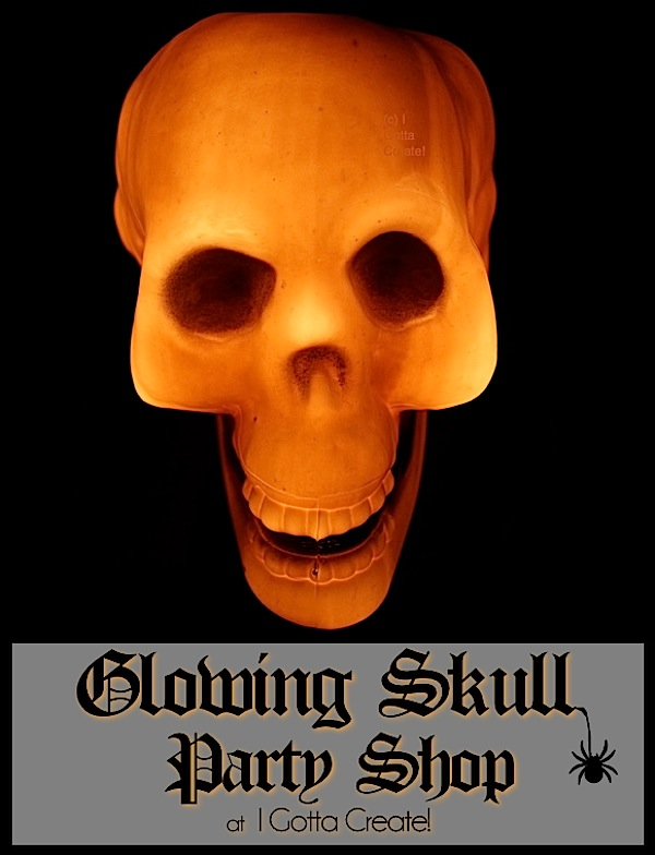 Glowing Skull Crafts & Party Shop at I Gotta Create!