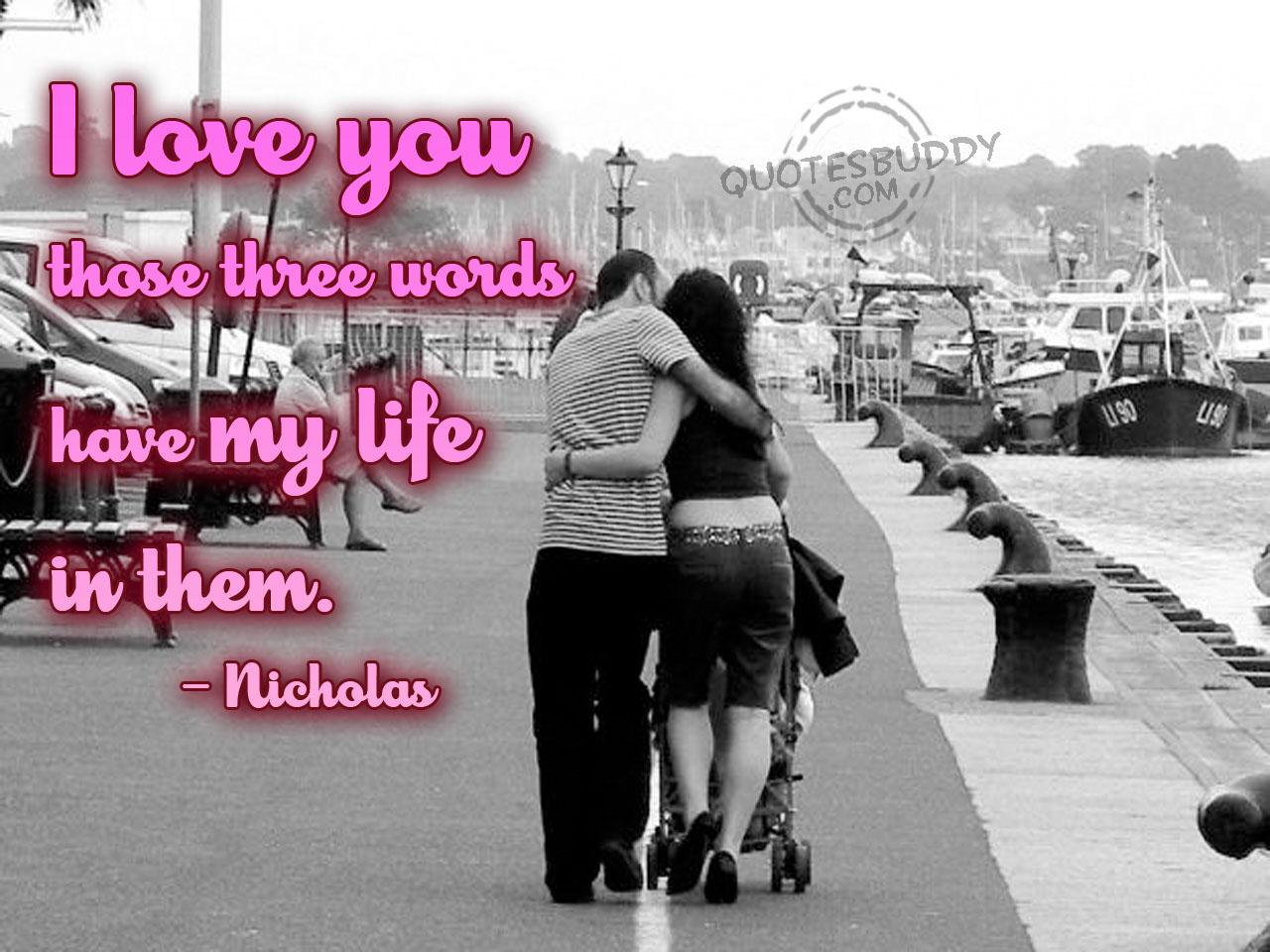love quotes the about