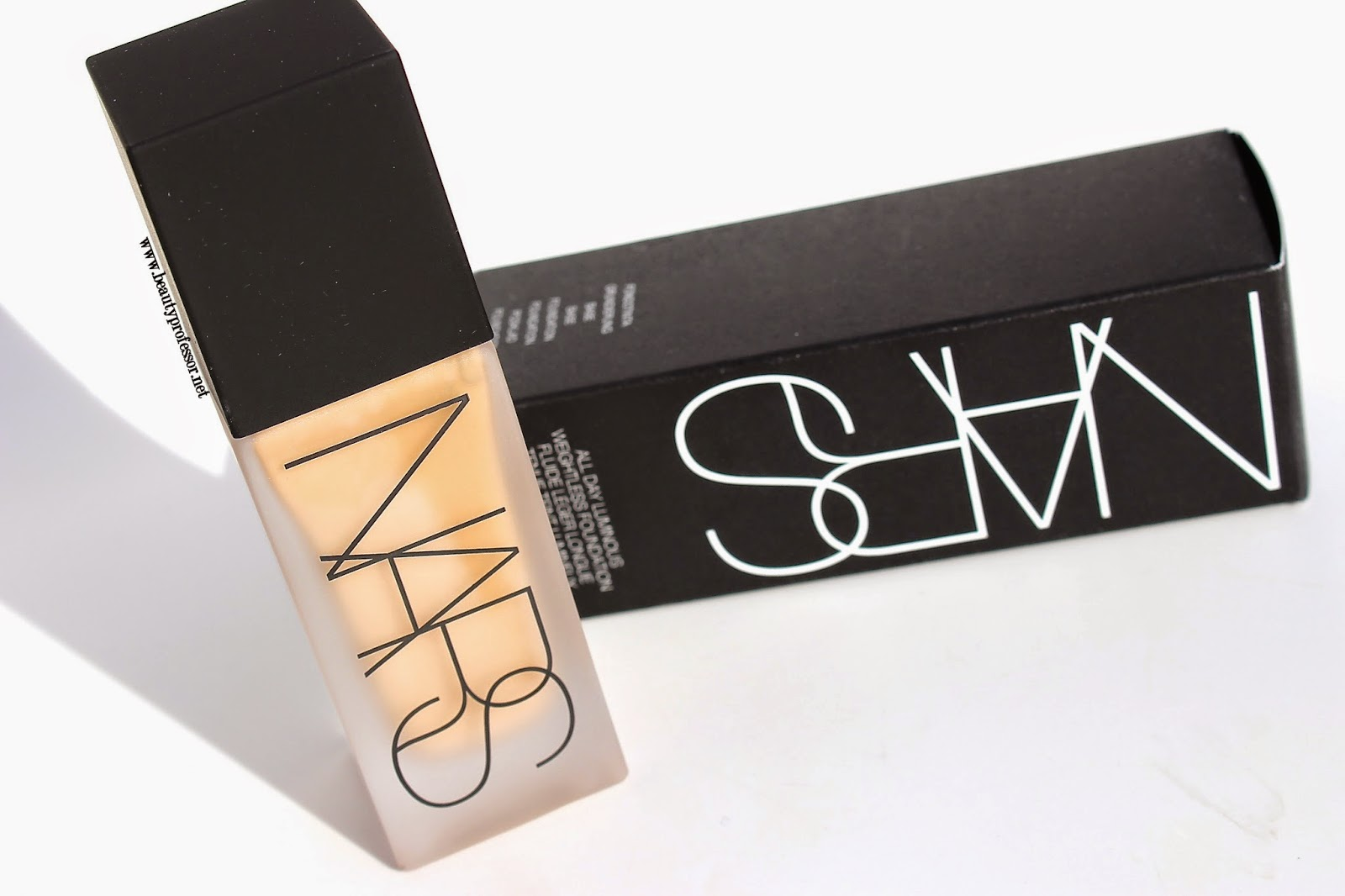 nars all day weighless luminous foundation swatches