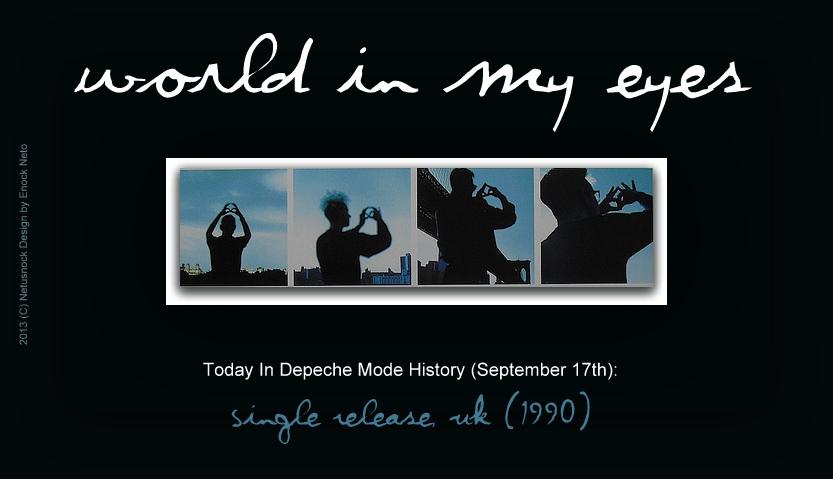 depeche mode world in my eyes - photo #19