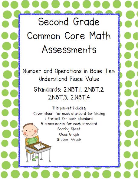 2nd grade common core math printables
