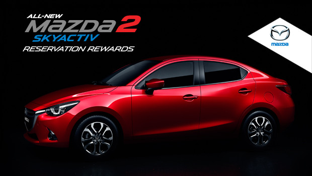 All-New Mazda2 Skyactiv Reservation Rewards