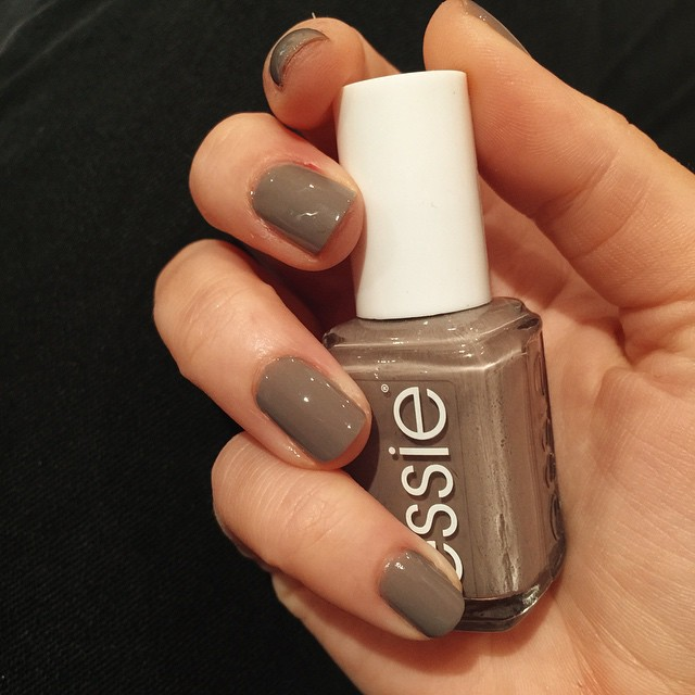 Essie Grey Nail Polish