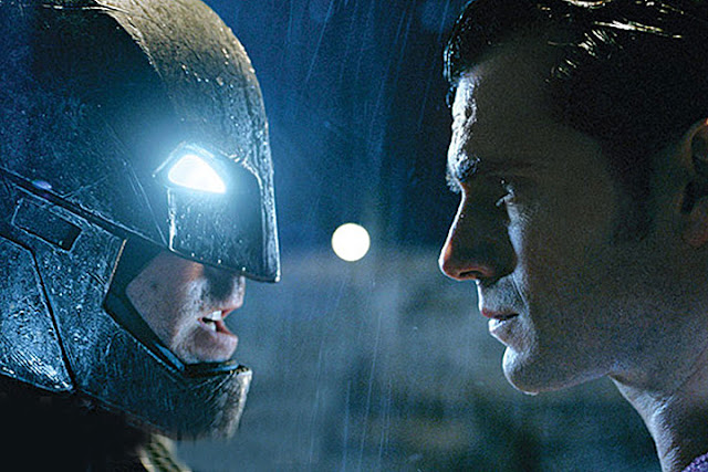 "Nueva ilustración promocional de ""Batman vs Superman: Dawn of Justice"""