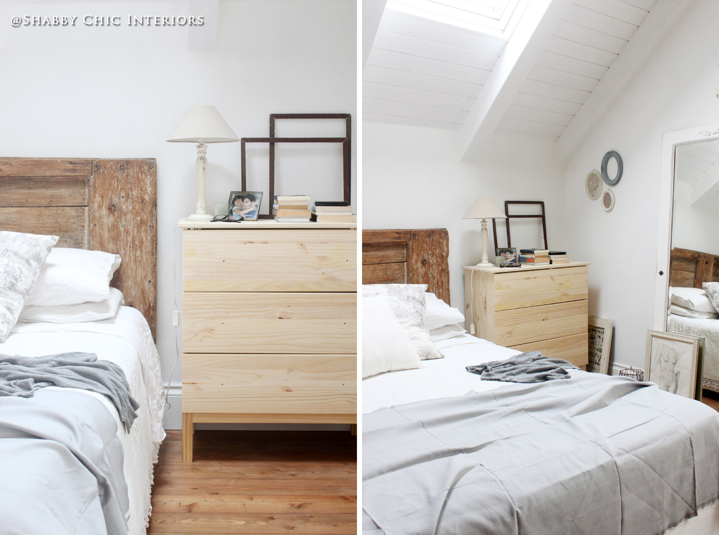 Restyling di una cassettiera ikea shabby chic interiors for Letto a mobile ikea
