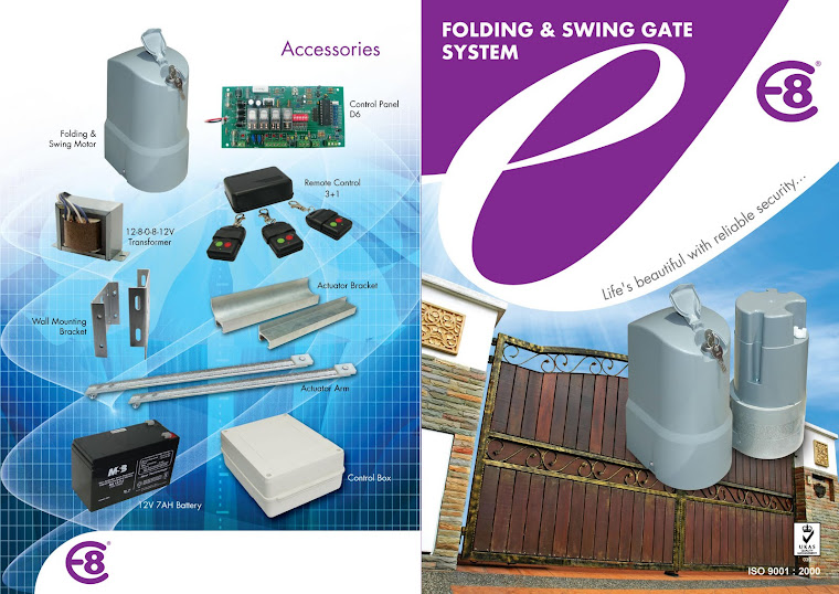 Swing Gate System - Above Ground