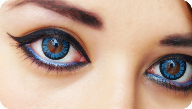 Beautiful Contect lenses (Blue)