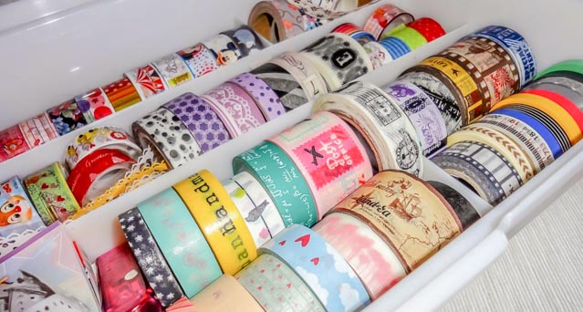 große Auswahl Washi tapes